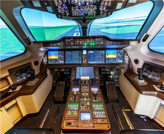 临夏919全动飞行模拟器