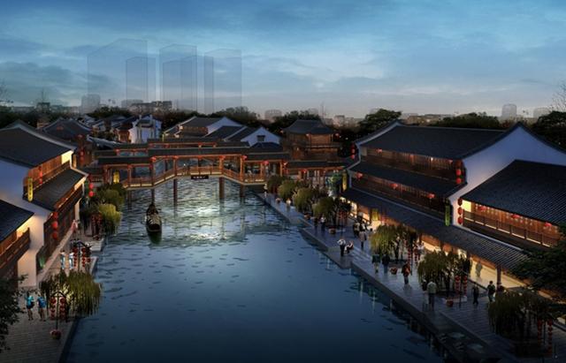 仿古的建筑设计是一种文化的传承,四川仿古风貌更是一种精神的回归!