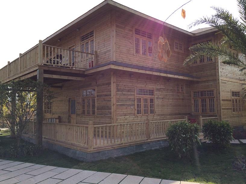 南充仿古四合院-木结构房屋