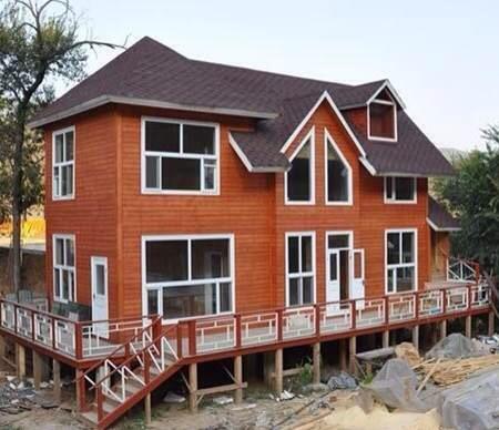 德阳仿古四合院-木结构房屋