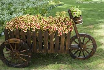 木质花箱的好处
