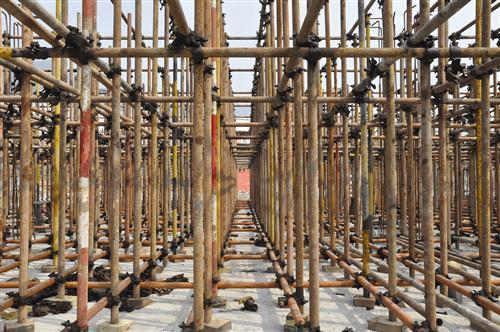 日常如何维护成都钢管架