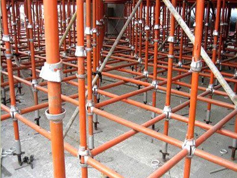 四川钢管架销售厂家——郫县工地案例