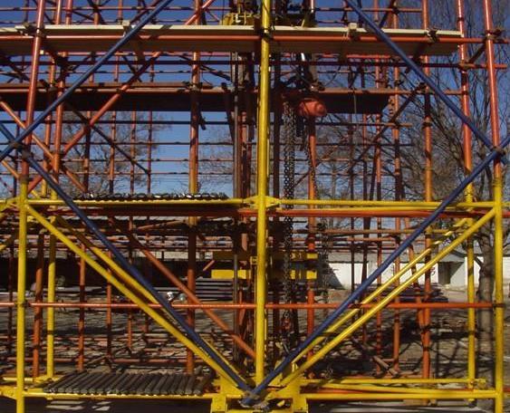 四川钢管架出租——新都案例