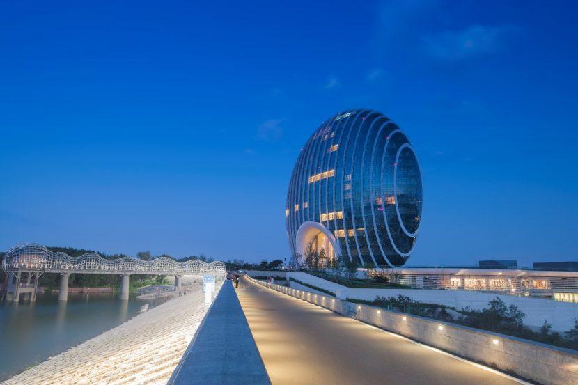 APEC峰会主场馆凯宾斯基大酒店项目