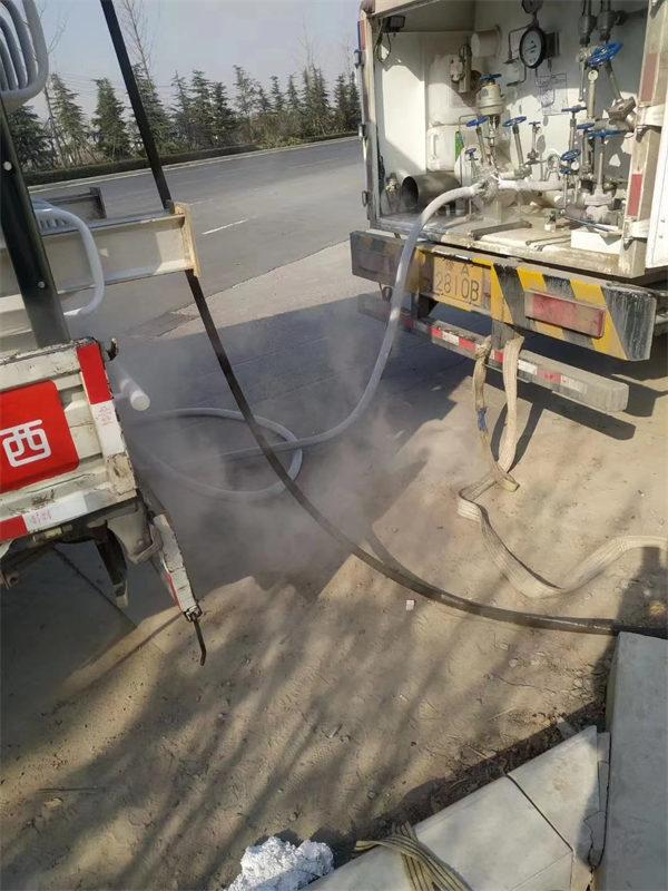 燃气管道置换