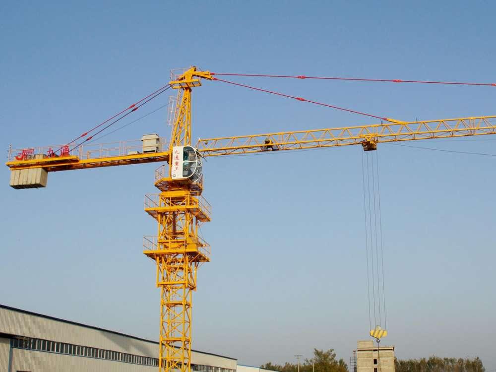 郑州塔吊租赁使用中如何让塔吊不坠落呢