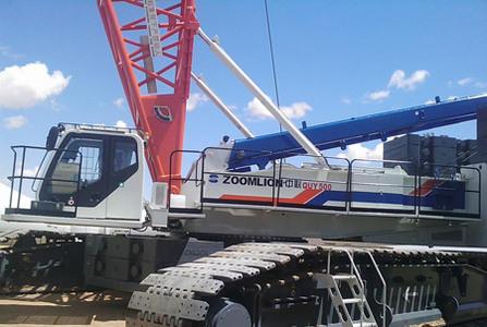内蒙古中联重科QUY500履带式起重机