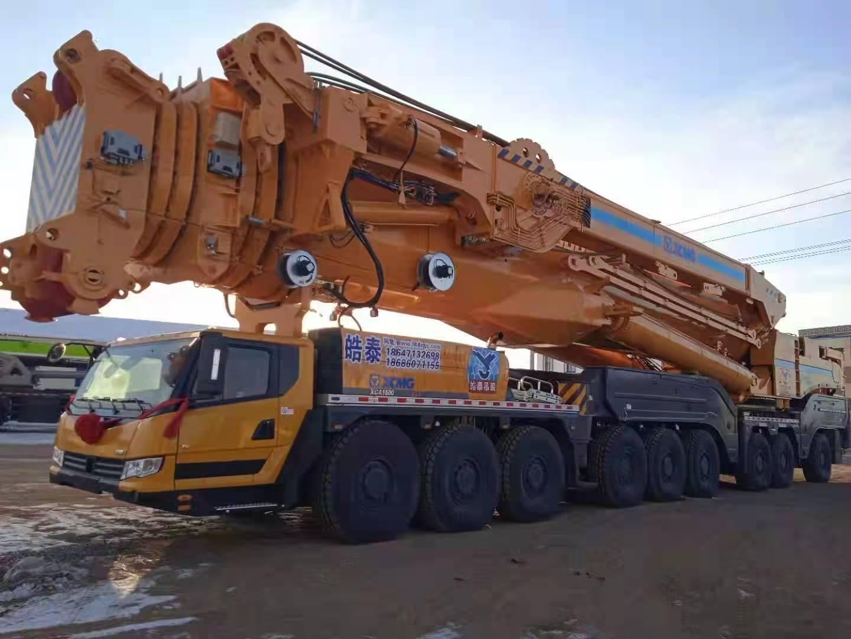 徐工XCA1600吨汽车吊车转机位状态