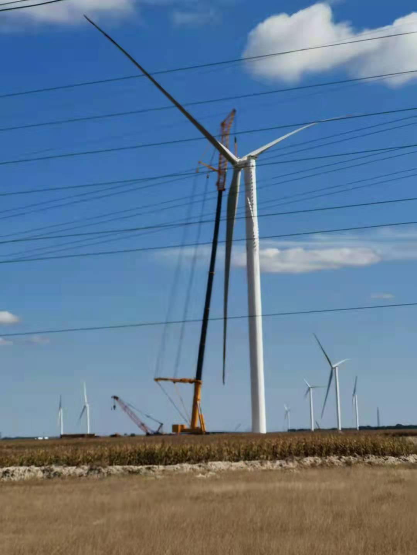 徐工XCA1600吨汽车吊车风电吊装4.0明阳风机
