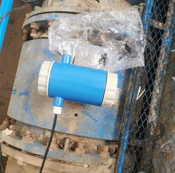 河南某客户DN700电磁流量计标定案例