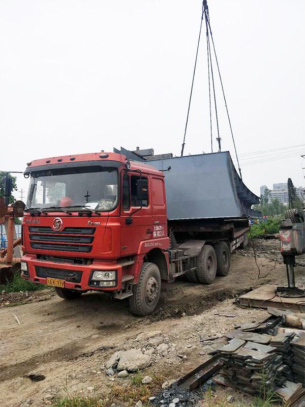 四川吊装施工案例:金凤凰桥