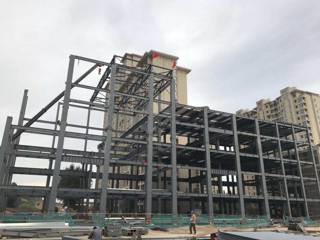 宝鸡盛世影城钢结构工程