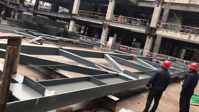 快来看看陕西钢结构材料在施工中都会出现哪些异常