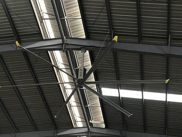 河北工业大风扇能够改善365必发乐趣网投房通风降温