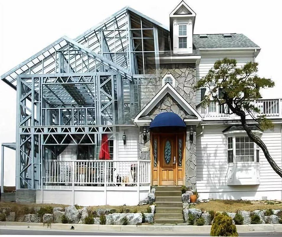 四川钢结构房屋厂的钢结构房屋适合农村建吗?