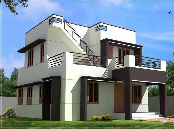 轻钢别墅设计