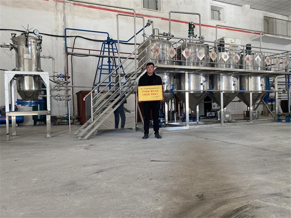 内蒙古赤峰巴林右旗榨油项目