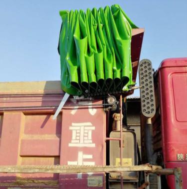 在秋冬季节需要对渣土车环保盖做这些保养工作