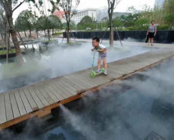 你晓得人造雾系统安装和大自然的雾区别在哪里么?