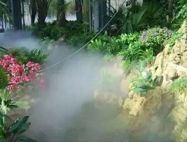 想知道人造雾设备在小区造景中的注意事项都有哪些么?