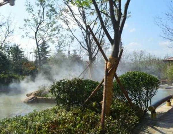 都有哪些原因会造成人工造雾设备其喷嘴堵塞你知道么?
