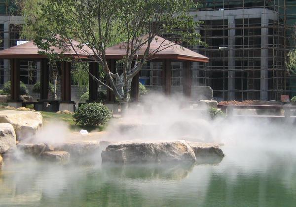 河南人造雾设备