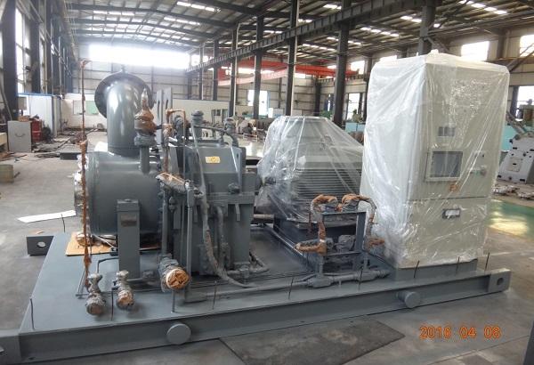 伊朗膨胀机发电双氧水尾气回收装置
