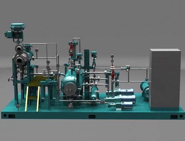 深冷低压膨胀机轴承温度过高的原因