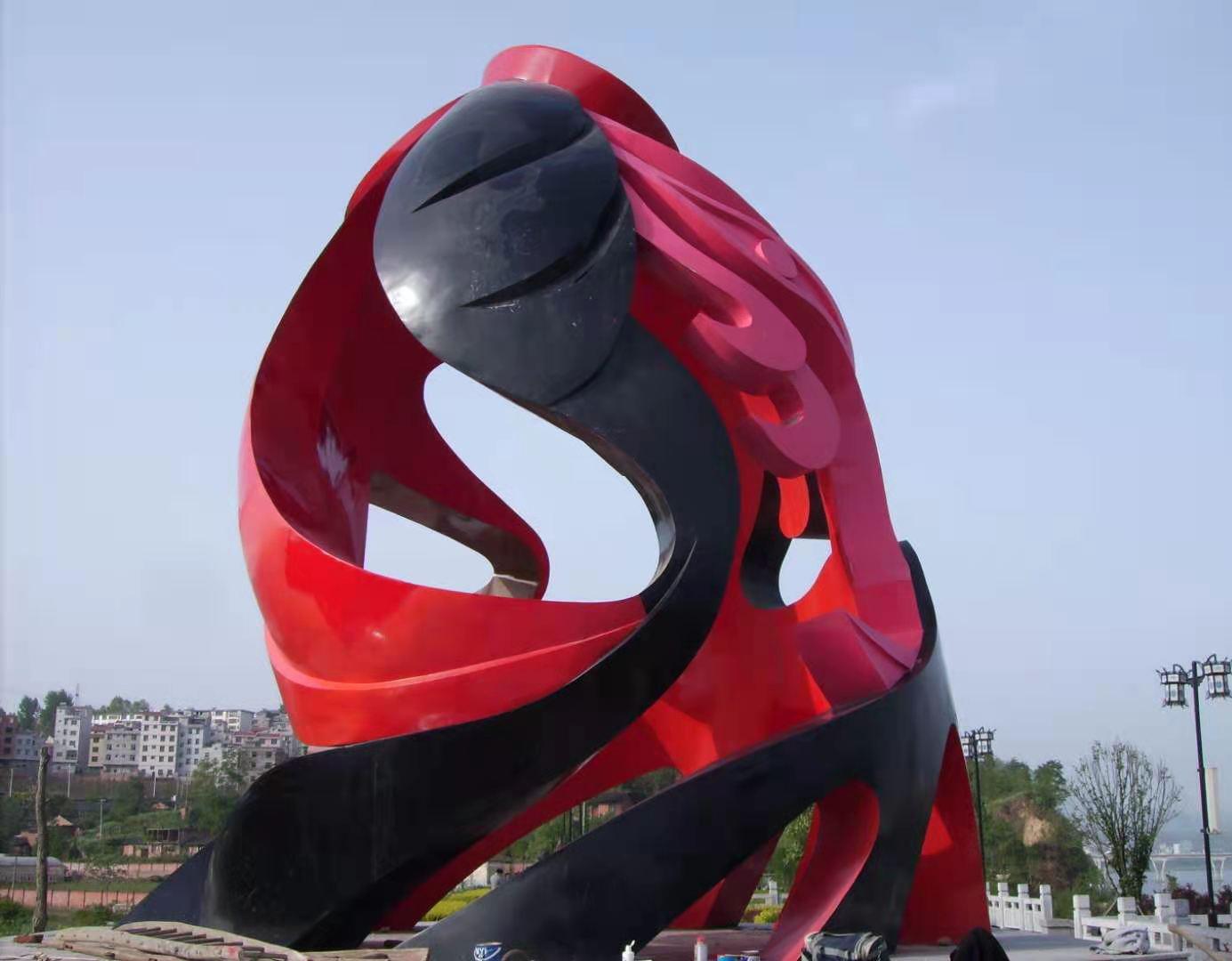 贵州不锈钢雕塑设计