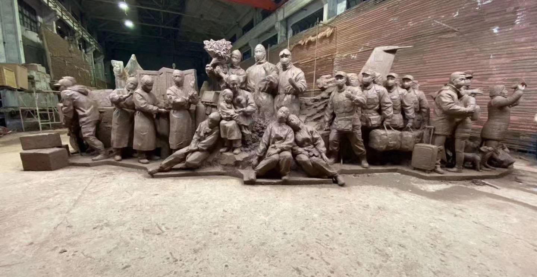 成都铸铜雕塑