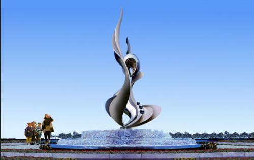 成都城市雕塑为了保 证其永 久保留的效果选择制作材料一定要慎重