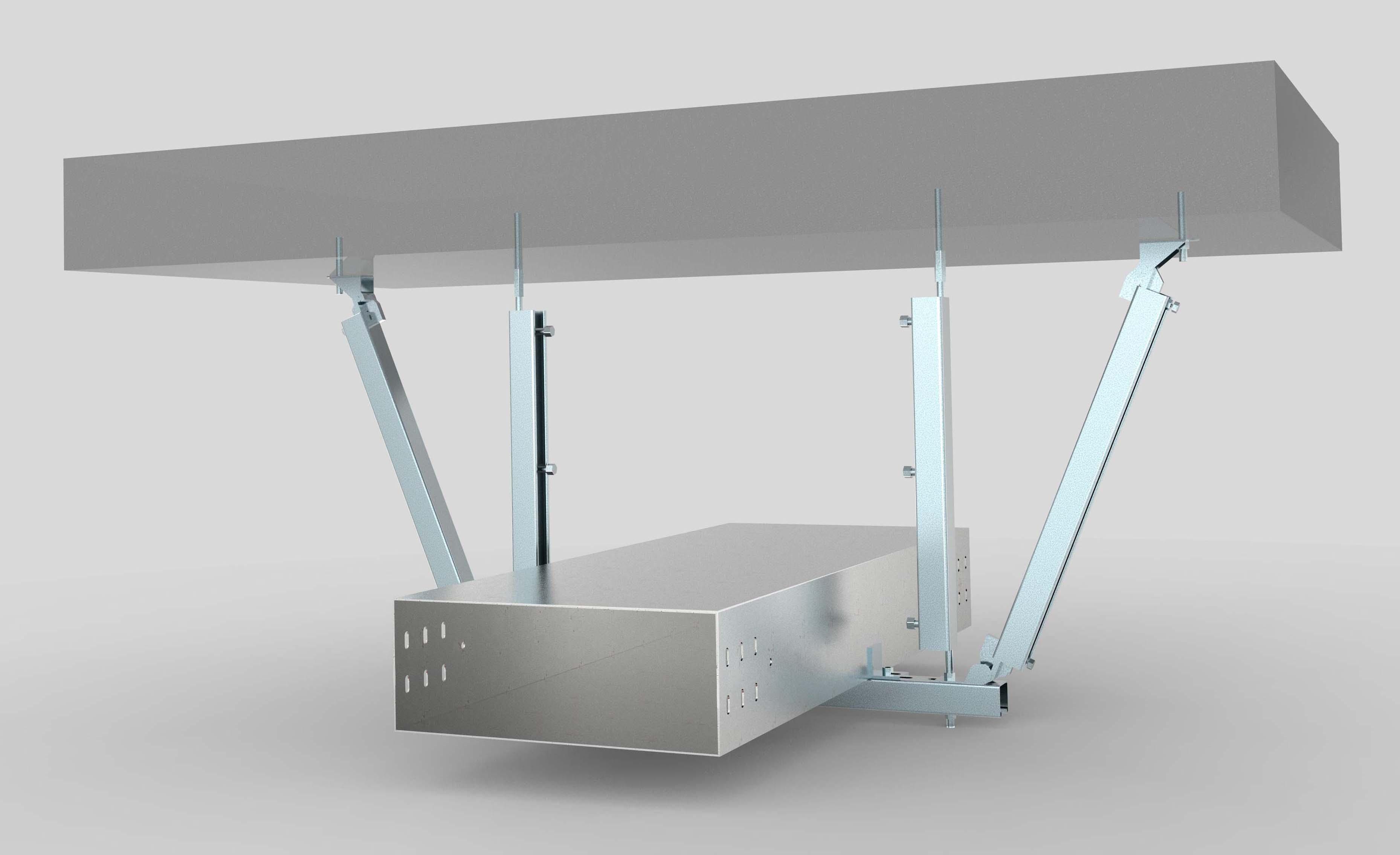 自贡抗震支架在厂房使用中质量控制方法介绍