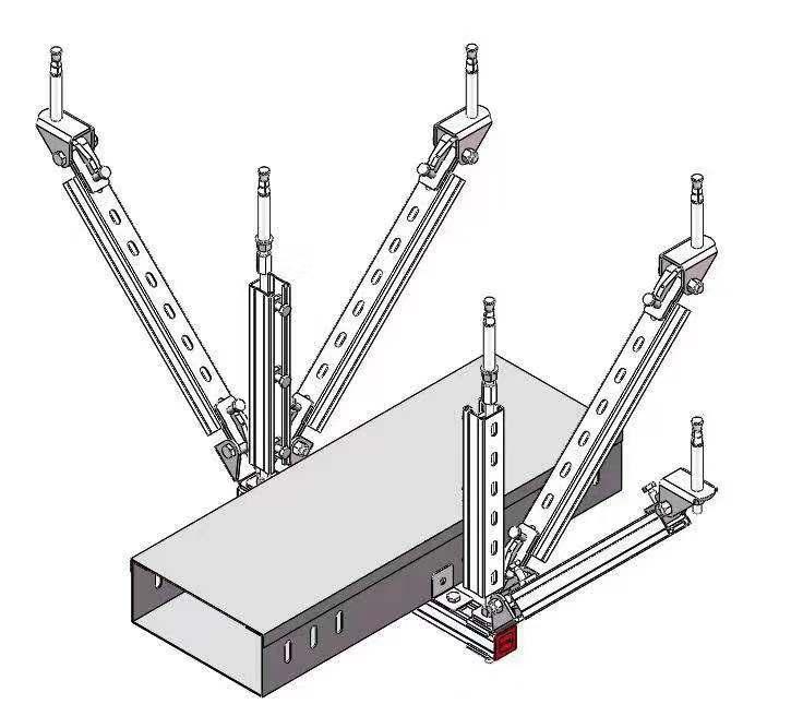 一文了解自贡抗震支架的施工技术难点