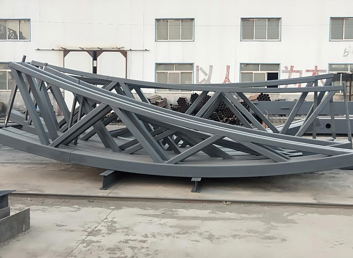企业实力雄厚的一体化大型钢结构联合企业