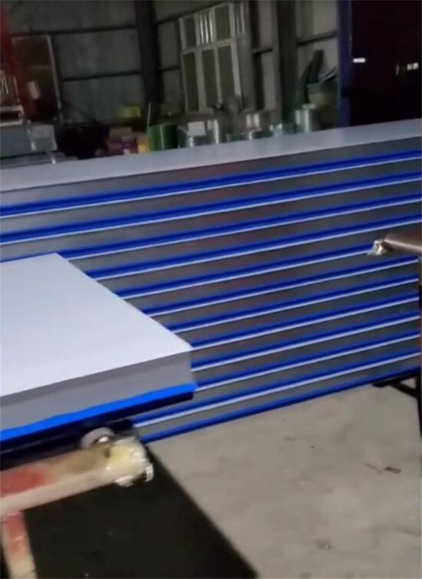蓝色彩钢复合板