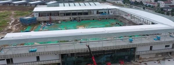 钢结构建筑-亚运马术项目主场馆9月底前整体完工