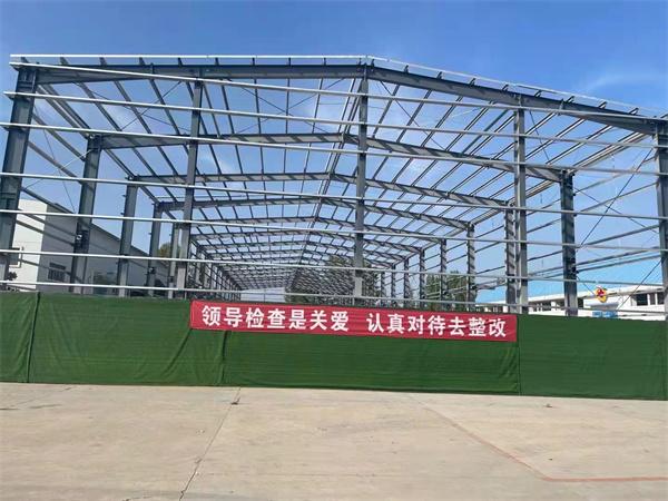 内蒙古钢结构厂房工程监督视察工作组莅临指导