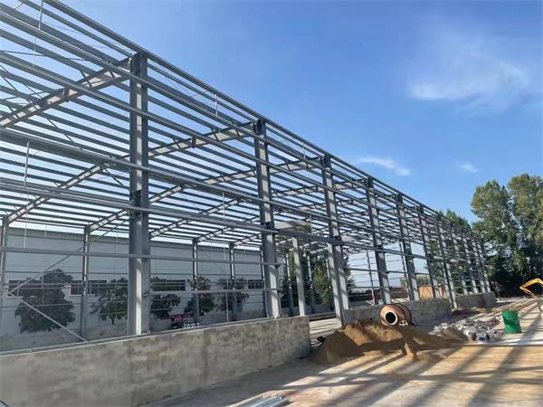 钢结构厂房工程承建中