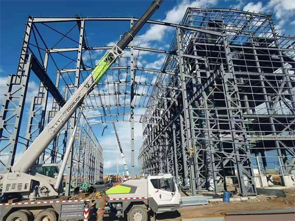 钢结构施工模拟分析的有限元模型