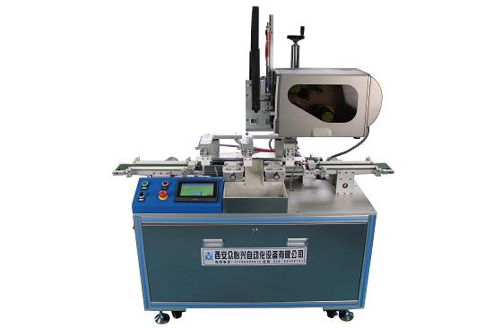 绵阳自动测电阻贴标一体机—非标自动化设备