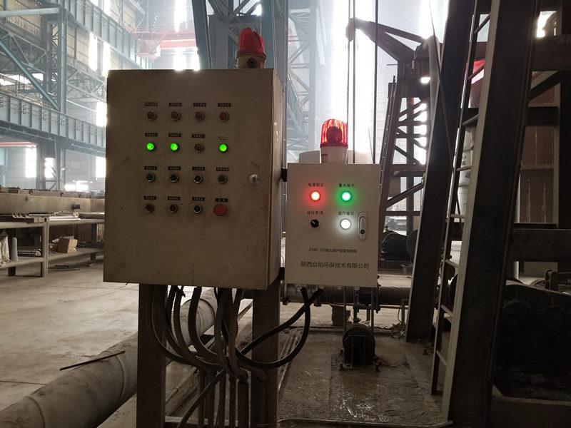 关于钢厂烤包器熄火保护报警控制箱的安装使用分享,一起来看看
