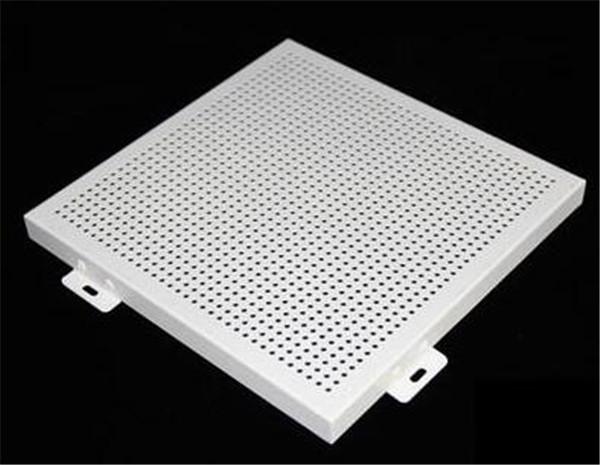 河南穿孔鋁單板生產