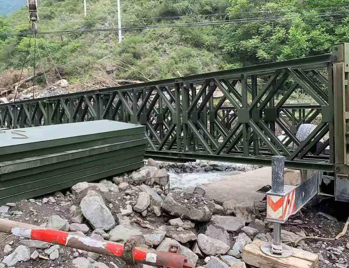 阿壩州21米鋼便橋