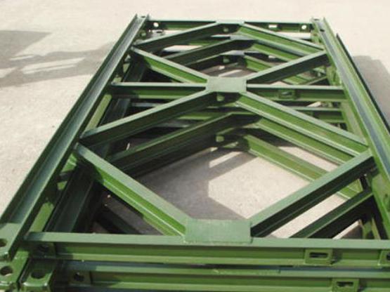 达通钢桥设备为你介绍四川贝雷片的结构