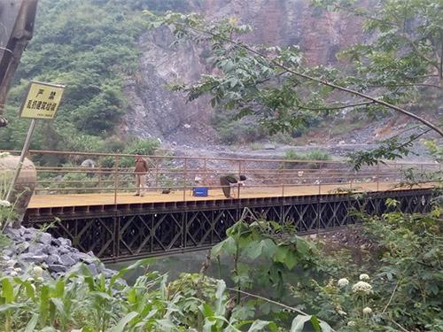 四川钢便桥搭建