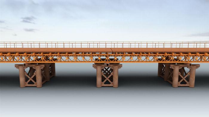 四川贝雷桥施工流程是怎么样的呢?