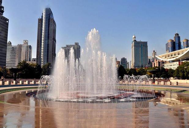 四川旱地喷泉施工