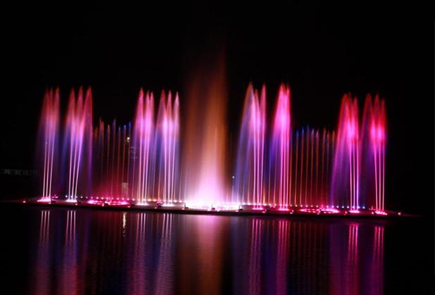 四川水景灯光秀设计