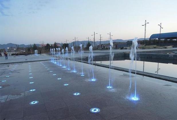 四川旱地喷泉设计